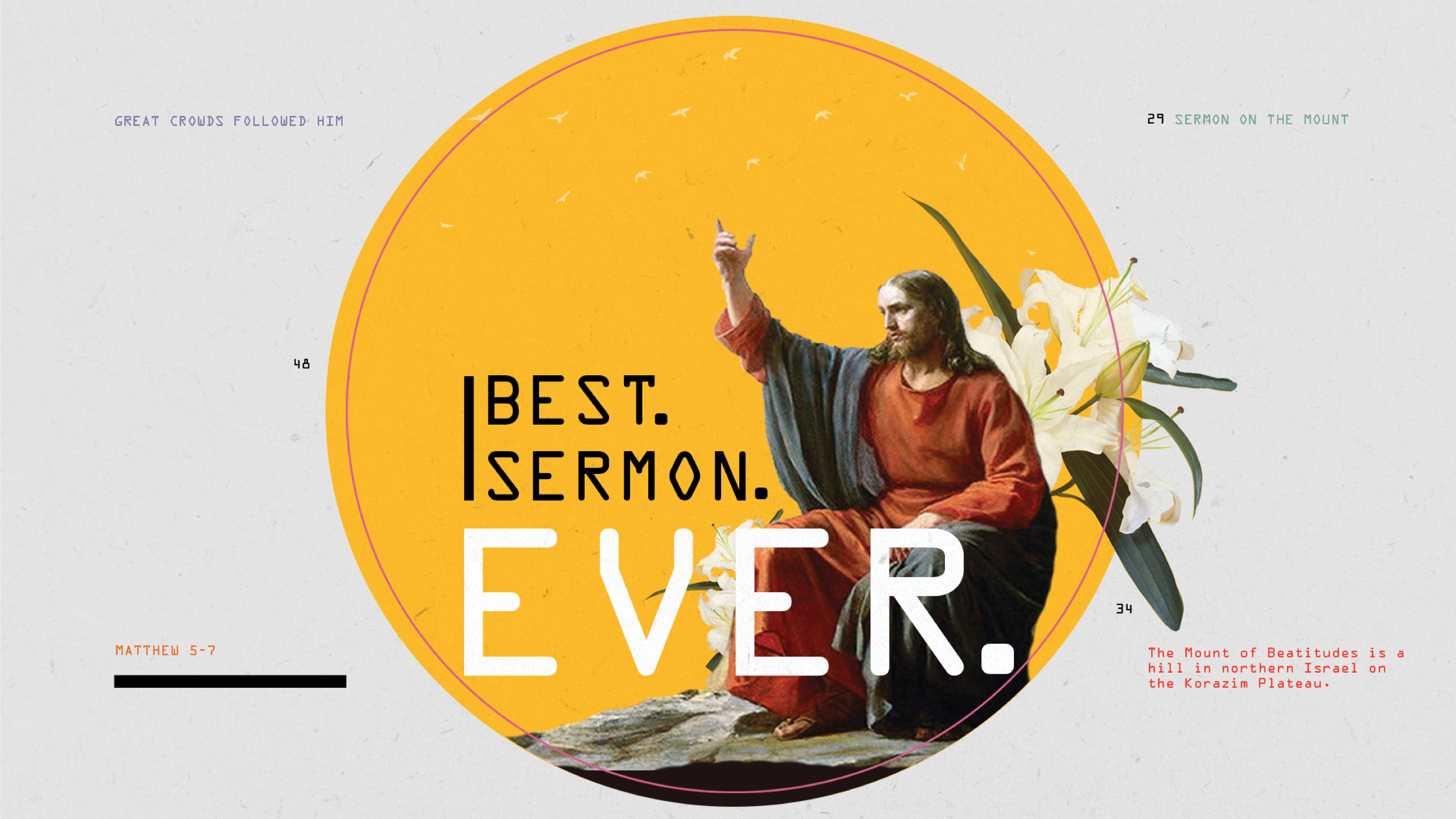 Best. Sermon. Ever. - Week 4: Lust, Divorce and Oaths